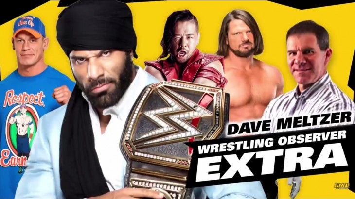 Dave Meltzer – How Long Jinder Mahal Keeps Title? Raw Numbers Dropping
