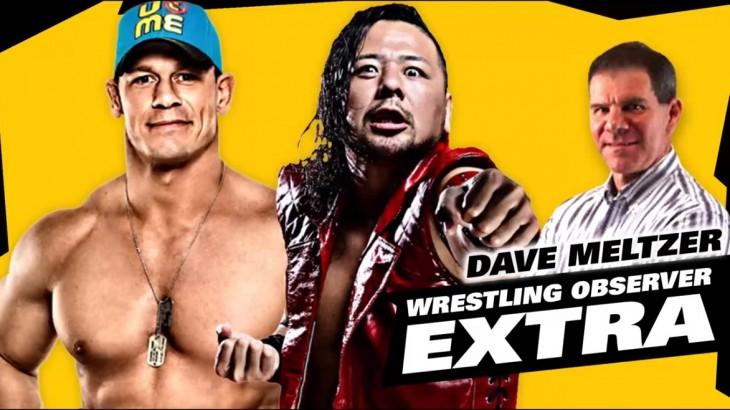 Dave Meltzer on Nakamura vs Cena, Lesnar vs Jones, GFW vs Hardys
