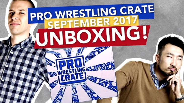 Pro Wrestling Crate UNBOXING! (SEPT 2017) Kenny Omega, Bruce Prichard, Virgil