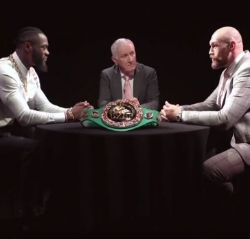 Deontay Wilder vs. Tyson Fury Roundtable & Face Off