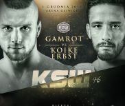 Mateusz Gamrot vs. Kleber Koike Erbst for the Featherweight Title at KSW 46
