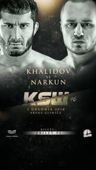 MMA_Poster_KSW45_MamedKhalidov_TomaszNarkun_2018_120118