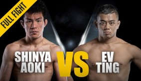 Shinya Aoki vs. Ev Ting from ONE: Kingdom of Heroes – Full Fight