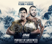 ONE: Pursuit of Greatness Set For October 26 in Yangon, Myanmar